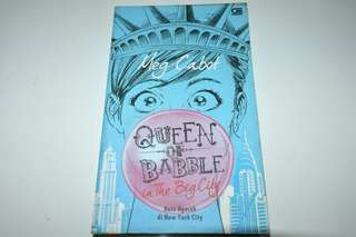 Novel Queen of Babble in Big City - Meg Cabot
