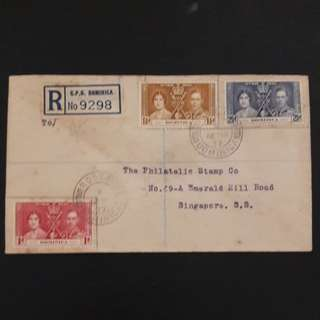 Dominica 1937 First Day Cover