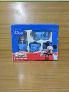 Disney水杯套裝,共4件用品。
