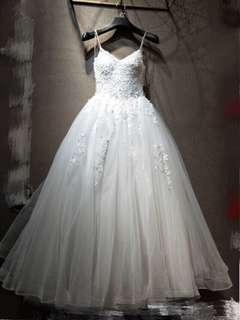 吊帶公主款輕婚紗