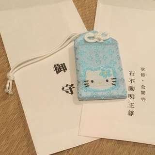 Hello Kitty 御守 日本 京都  金閣寺