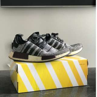 """NMD R1 """"CHAMPS EXCLUSIVE"""" Grey Purple"""