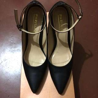 Parisian Black Pointed Heels