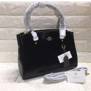Authentic Quality Coach Handbag w/ sling
