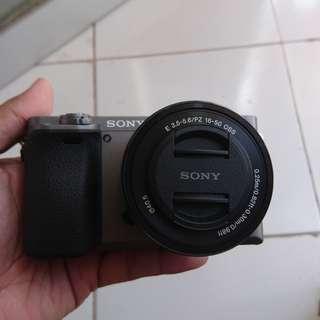 Sony a6000 mulus komplit sc low