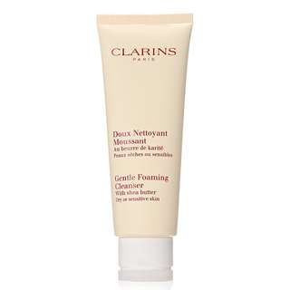 Clarins Gentle Foaming Cleanser with Shea Butter (Dry or Sensitive Skin)