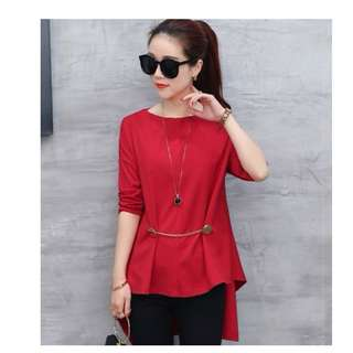 GSS8805 CASUAL-BLOUSE(Instock)