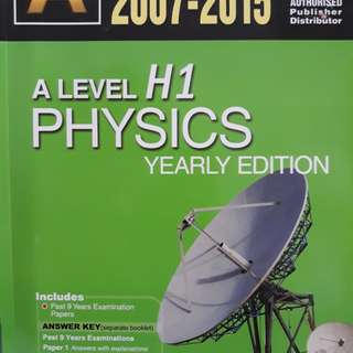 H1 Physics Past Year Papers