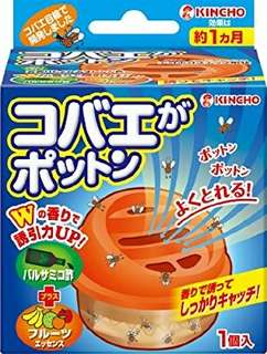 """(少量現貨,大優惠) 日本進口,日本 KINCHO """"日本製"""" 第二代 果蠅誘捕蚊滋啫喱,平均一盒$40起"""
