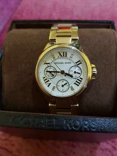 MK watch! Used twice only.. with manual and box..