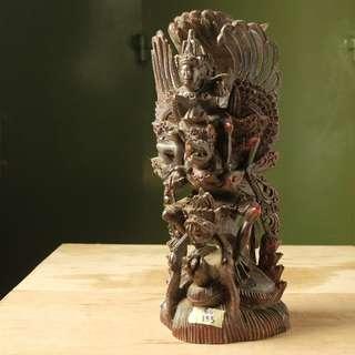Patung Kayu Naga dan Orang (BU.133)