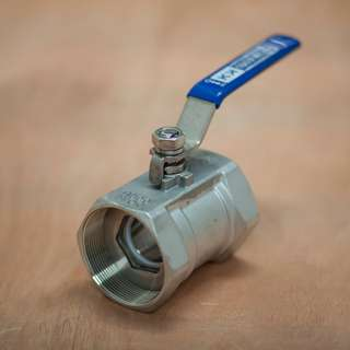 "Ball Valve 1"" 1PC Body 1000 WOG - KOKAI Valve"