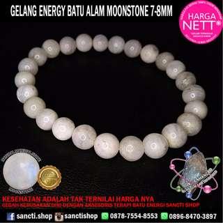 GELANG ENERGY BATU MOONSTONE 7-8MM