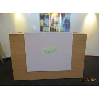 CUSTOMIZE LAMINATED RECEPTION TABLE--KHOMI