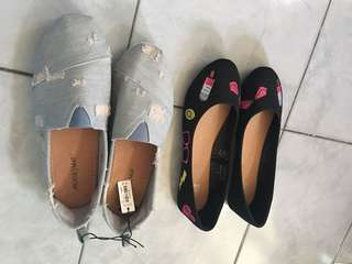 BN Ardene flat shoes. From Canada. Bundle sale.