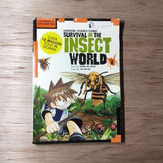 Survival Science Comic Survival In The Insect World Volume 2