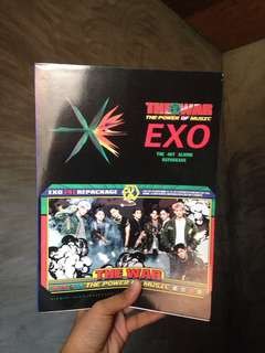EXO The War: THE POWER OF MUSIC (4th Album Repackage)
