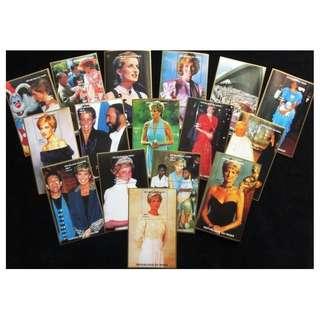 Princess Diana stamp minisheet 1997 Niger mnh complete 16 pcs
