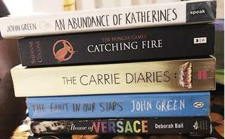 The Fault In Our Stars, An Abundance Of Katherine, The Carrie Diaries, The Hunger Games - Catching Fire, House of Versace