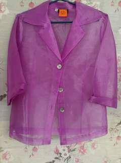 Formal polo blouse