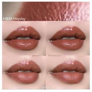 H&M唇膏 奶茶色#彩妝半價
