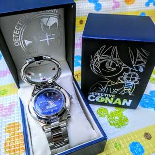日本代購 USJ 限定 名偵探柯南 麻醉手錶