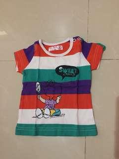 Baju kaos atasan snoopy baby
