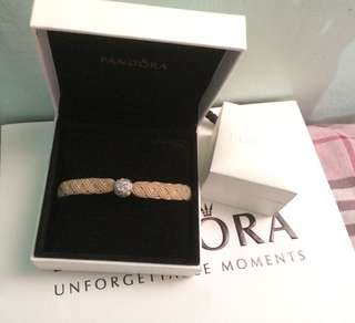 Pandora Macrame with Clip