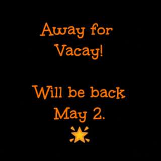 We will be back on May 2 😊