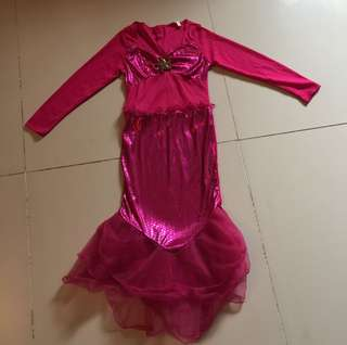 Pink Mermaid Costume