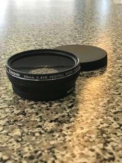 Kanzen 58mm 0.45X Digital Wide Lens w/macro