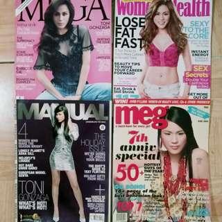 Toni Gonzaga Magazines (4 pcs)