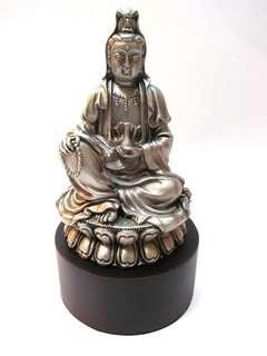 Guan Yin Statue figurine(Pewter Tin)