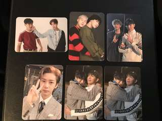 Monsta X The Code Photocards