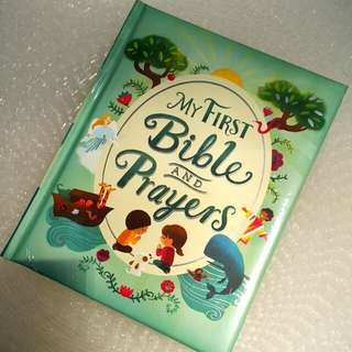 My first bibles and prayers