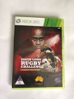Xbox 360 Games (Rugby Challenge 2)