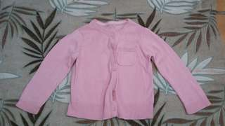 Pre-loved light pink cardigan