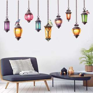 Lamp Wall Sticker