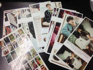 BTS Post Cards/ Stickers