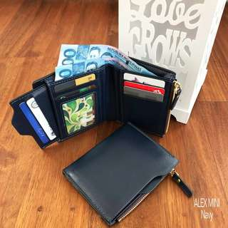 Faux Leather Mini Foldable Wallet - Free shipping