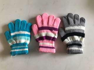 Kids Woollen Gloves