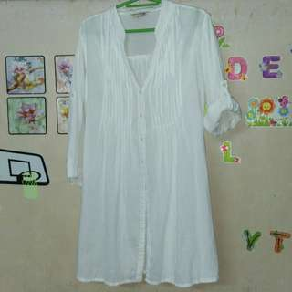 White ls blouse