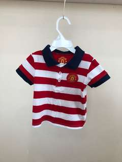 Polo Tshirt Kanak2 Official Manchester United 6-12mth