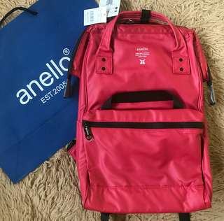 Anello Water Resistant Backpack