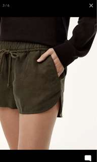 Aritzia Wilfred Free Habitus Shorts