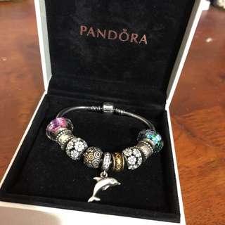 Pandora (9 charms )