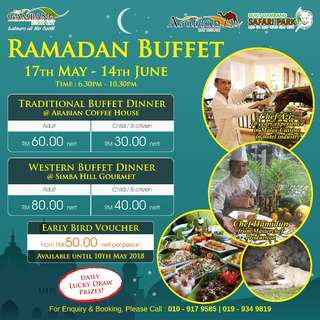 Ramadan Buffet @ Bukit Gambang Resort City