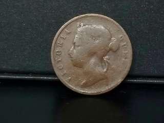 Q.Victoria 1897, 1cent