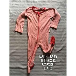 [Bundle Murah] Sleepsuit Pure Baby