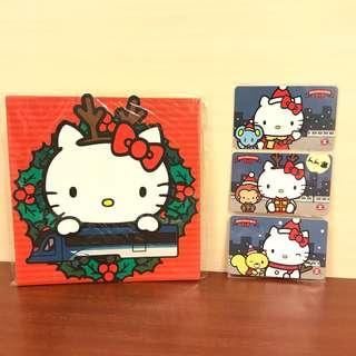 2014年 絕版港鐵聖誕Hello Kitty紀念車票